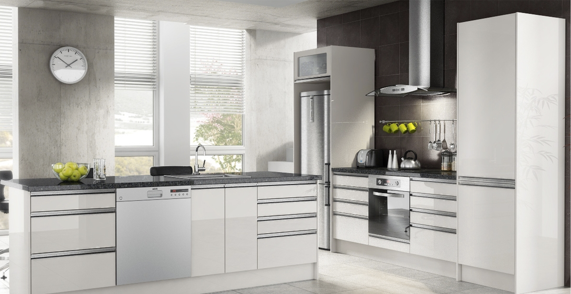 ValuePak Premier Range European Style Kitchen Cabinetry